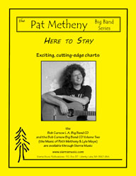Here to Stay - Pat Metheny / arr. Curnow
