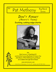 Don't Forget (Renato's Theme) - Pat Metheny / arr. Curnow