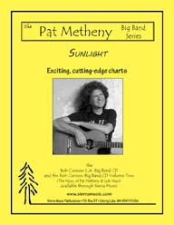 Sunlight - Pat Metheny / arr. Curnow
