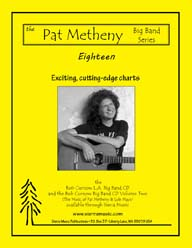 Eighteen - Metheny & Mays / arr. Bob Curnow