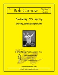 Suddenly It's Spring (small band) - arr. Bob Curnow