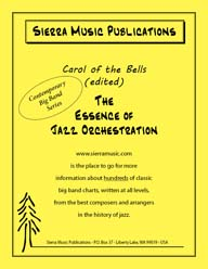 Carol of the Bells (Edited) - arr. Rich DeRosa / Bob Curnow