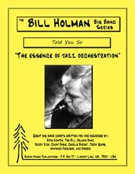 Told You So - Bill Holman