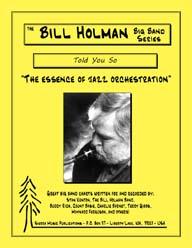 Told You So - Bill Holman