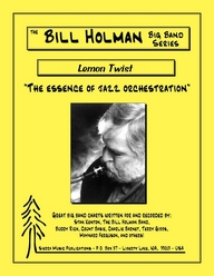 Lemon Twist - arr. Bill Holman