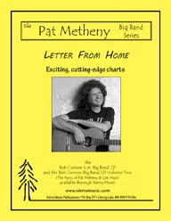 Letter From Home (edited v.) - Pat Metheny / arr. Curnow