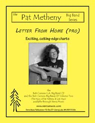 Letter from Home (Pro) - Pat Metheny / arr. Curnow