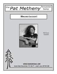 Minuano (six eight) - Metheny & Mays / arr. Curnow