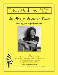 So May It Secretly Begin - Pat Metheny / arr. Curnow