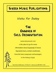 Waltz for Debby - arr. Don Sebesky