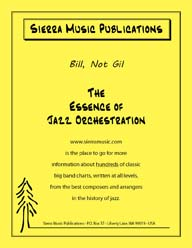 Bill, Not Gil - Don Sebesky