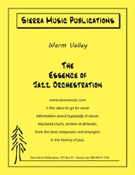 Warm Valley - arr. Don Sebesky