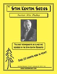 Kenton Hits Medley - arr. Bob Curnow