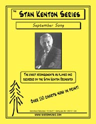 September Song - arr. Stan Kenton